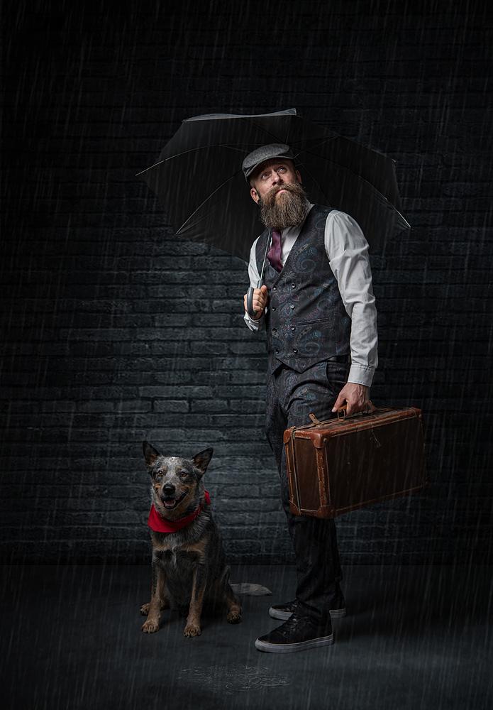 28 Punkte-its raining man - Ronald Diensthuber