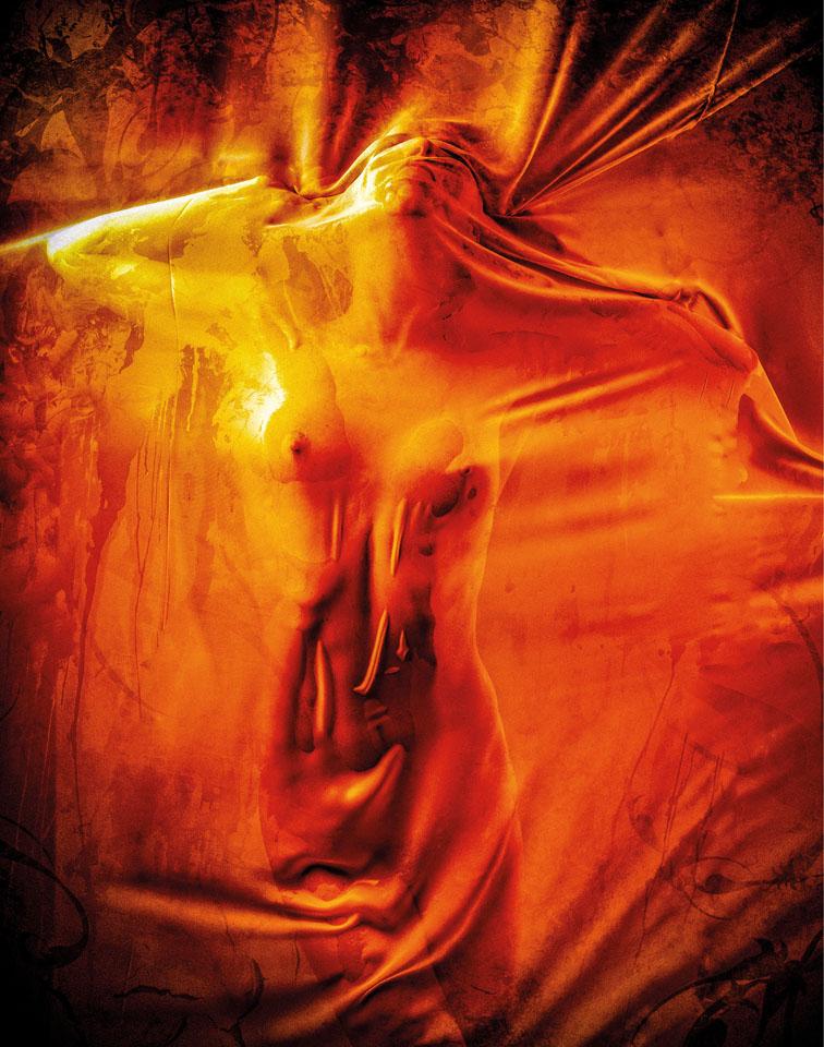 Preinerstorfer Gerd_Oranges Tuch