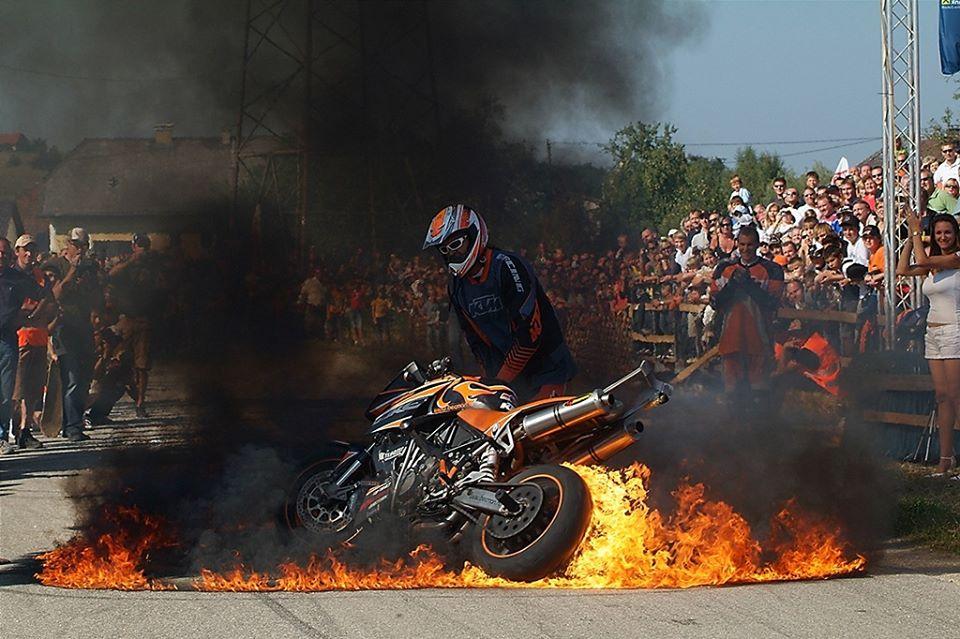 """Burning KTM"" Wolfgang Habringer"